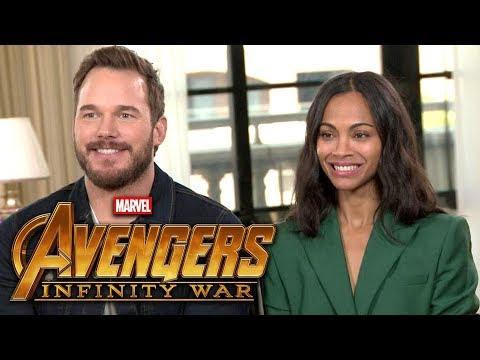 'Avengers: Infinity War': Chris Pratt and Zoe Saldana (FULL INTERVIEW)