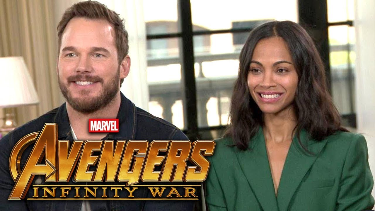 'Avengers: Infinity War': Chris Pratt and Zoe Saldana (FULL INTERVIEW)