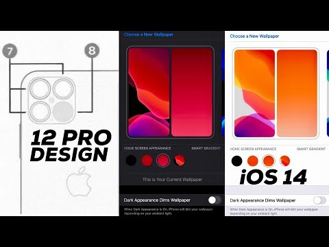 Possible IPhone 12 Pro Design + IOS 14 Leaks