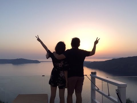 Our first adventure together - Greece & Italy