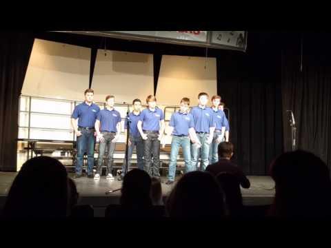 2017 Feb Oscar sings A Cowboy's Life with VPA Noteworthy Boys Choir
