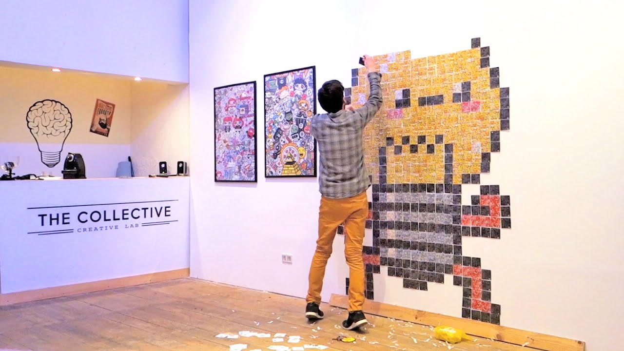 Assez Kawaii Lightbulb - Post-it Note Pixel Art by Garbi KW - YouTube AC32