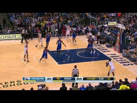 Philadelphia 76ers vs Indiana Pacers | March 17, 2014 | NBA 2013-14 Season