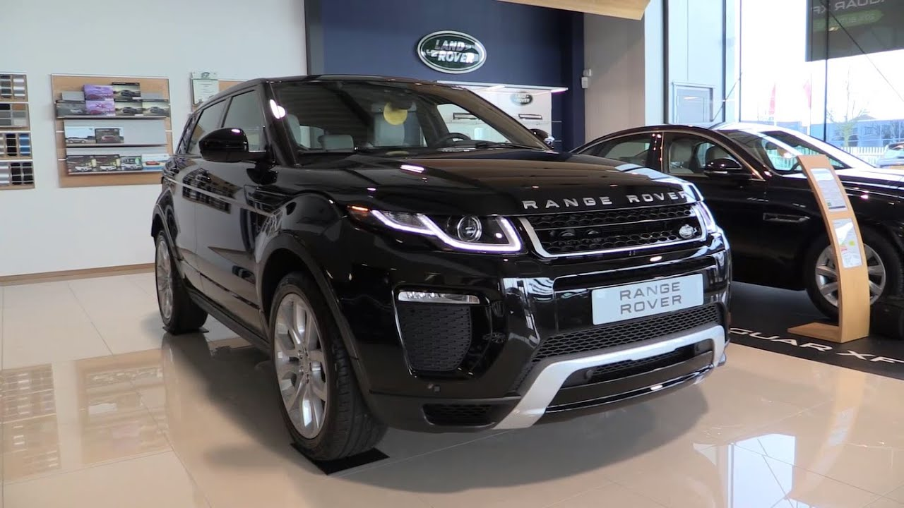 2017 range rover evoque in depth review interior exterior. Black Bedroom Furniture Sets. Home Design Ideas