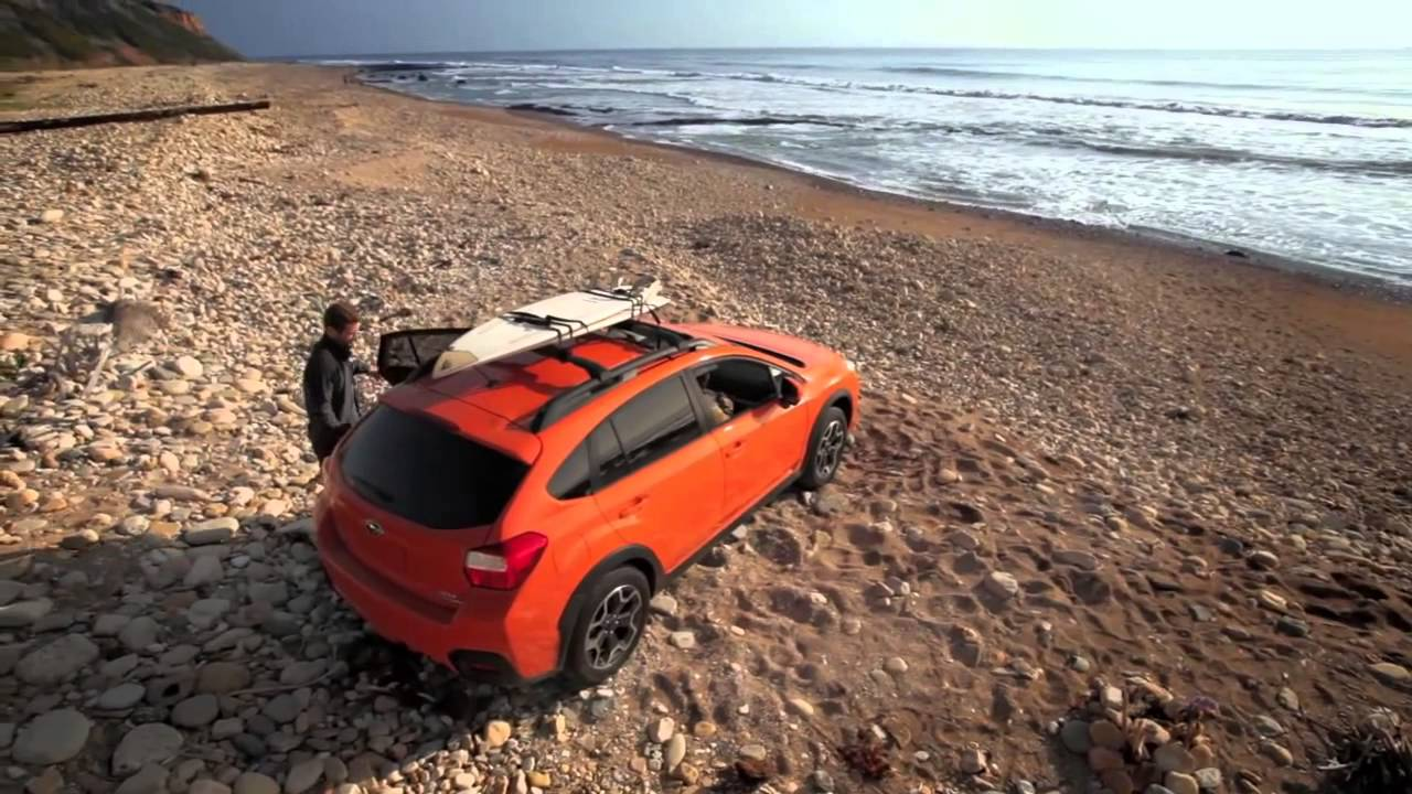 2015 Subaru XV Crosstrek Surfing Day