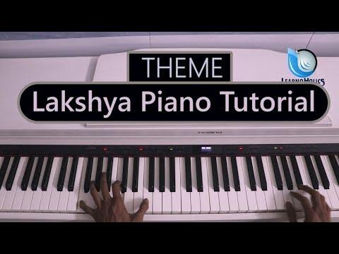 Lakshya Theme on Piano   Tutorial   Motivation Piano Song By Raj Gaikwad   Laksh