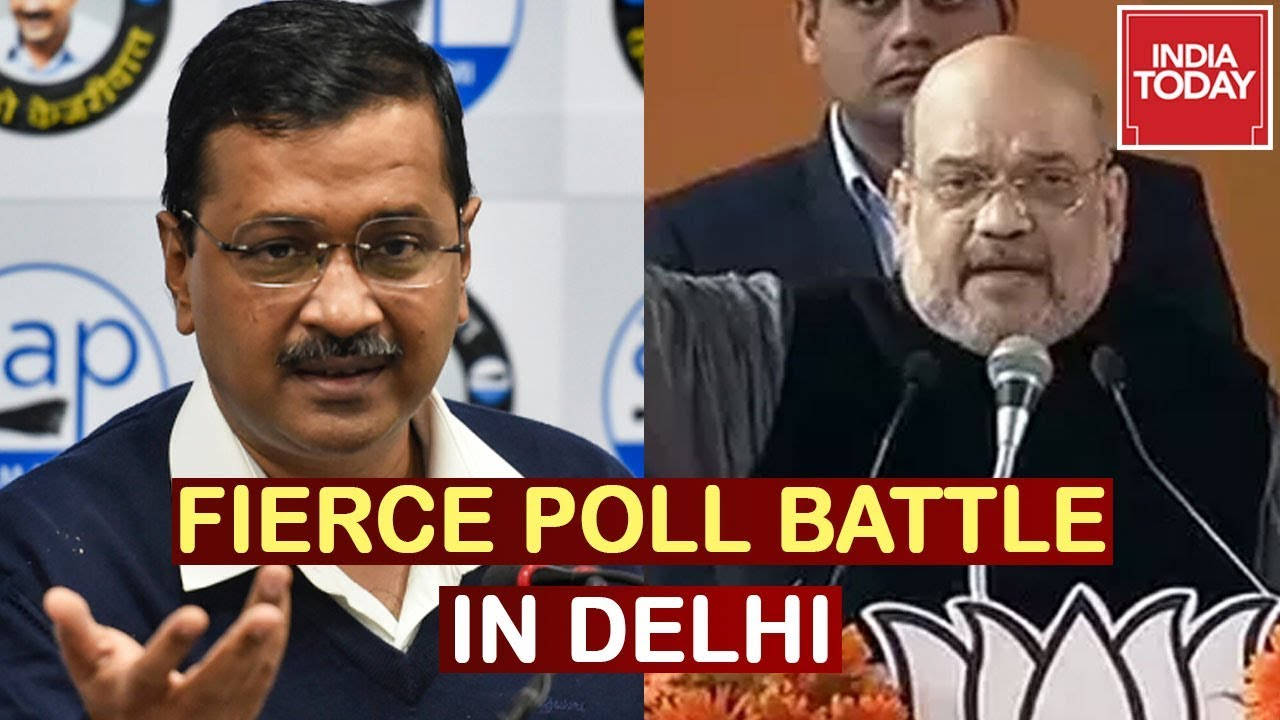 Arvind Kejriwal vs Amit Shah Fierce Political Battle In Delhi | India Today Ground Report
