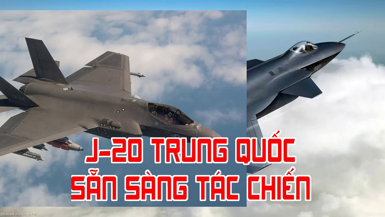 J 20 Trung Quốc sẵn sàng tác chiến