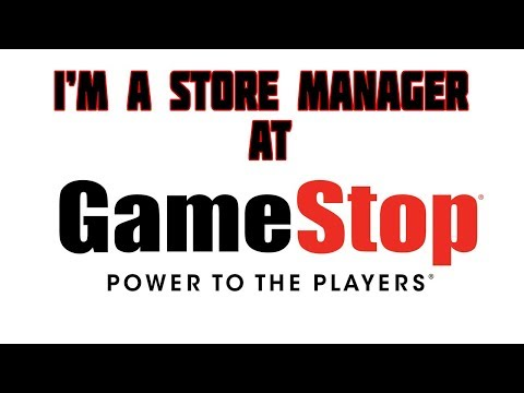 Im Store Manager At Gamestop