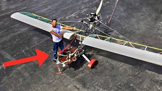 Homemade Airplane MK3 pt4