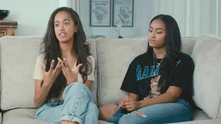 Watch Malia and Sasha Obama Talk About Mom Michelle in Rare OnCamera Interview