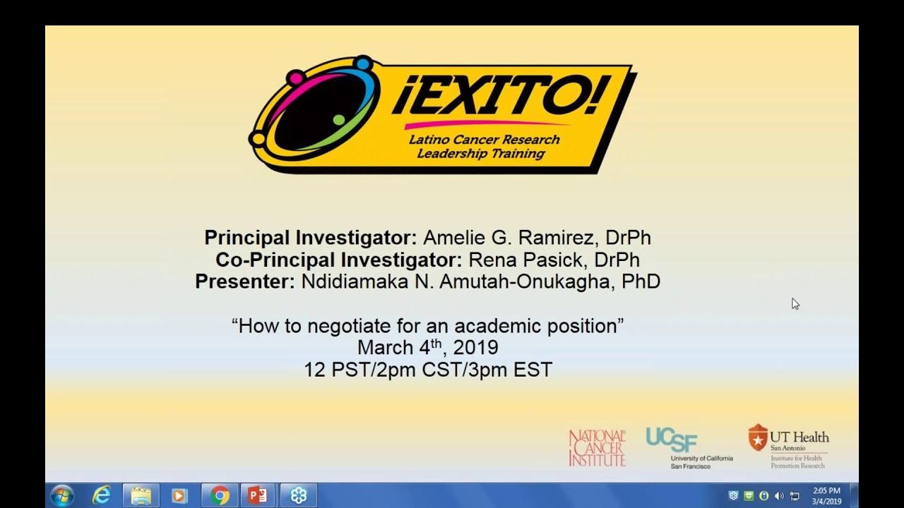 Webinars | Exito Training