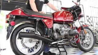 1978 BMW R100S Classic Sport-Touring Motorcycle