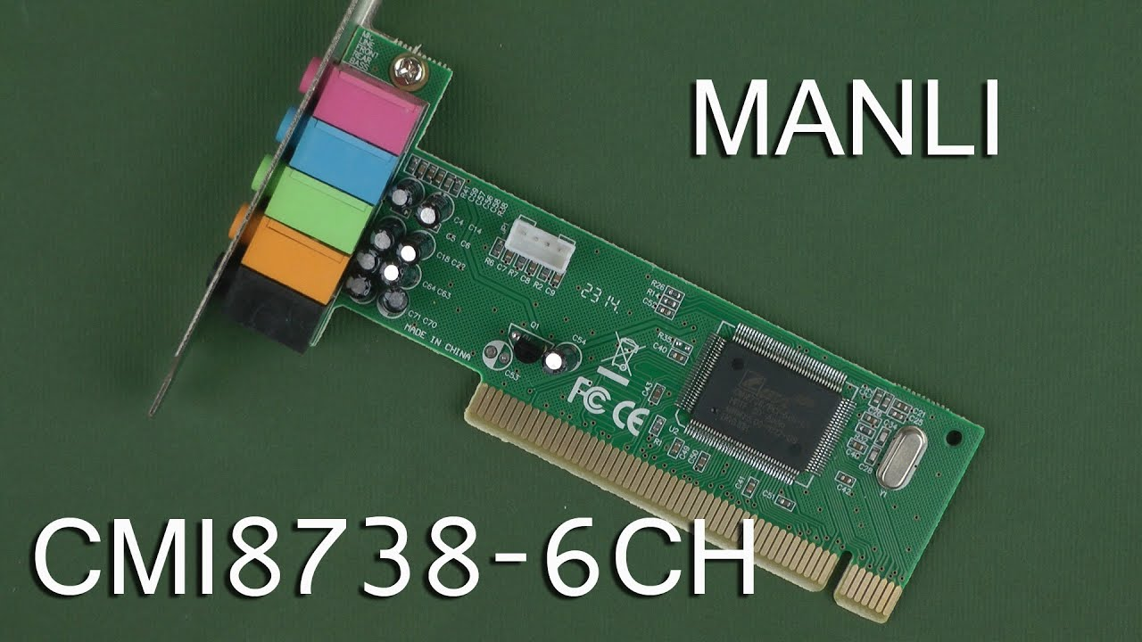 MANLI M-CMI8738-6CH TREIBER WINDOWS 8
