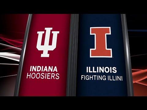 Indiana at Illinois - Football Highlights