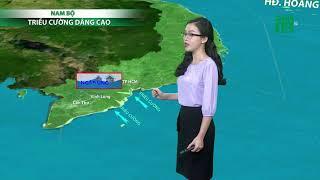 Thời tiết cuối ngày 23h 22/10/2018: Thanh Hóa đến Nghệ An có mưa rào và dông trong ngày 23/10 |VTC14