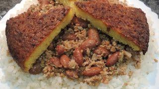 Плов с фасолью. Азербайджанская кухня