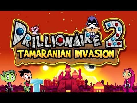 Drillionaire 2 Tamaranian Invasion Cartoon Network Games Youtube