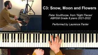 C3: Snow, moon and flowers (ABRSM Grade 8 piano 2021-2022)