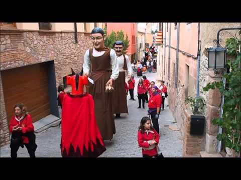 Gegants de Castellbisbal - Fí de passejada a Collbató 2015
