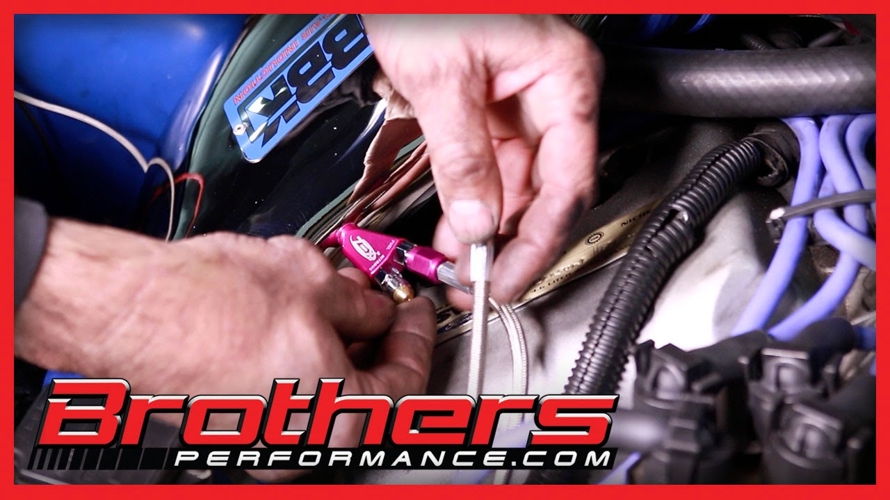 Nitrous Wiring Diagram With Window Switch Bt Telephone Sockets 1986 2004 Mustang Zex Kit Installation Dyno Test Youtube