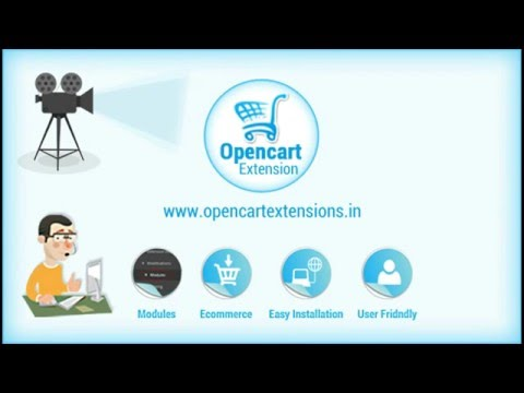 how to add extension in opencart