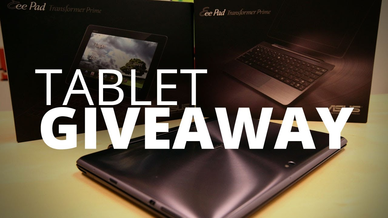 Tegra 3 Tablet Giveaways Youtube