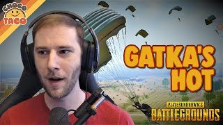 chocoTaco\'s Hardest Gatka Drop - PUBG Gameplay on Erangel Remastered