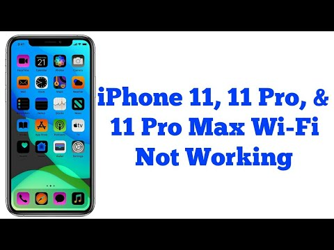IPhone 11, 11 Pro, 11 Pro Max WiFi Not Working - Fixed