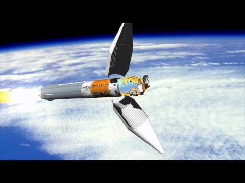Terra satellite launch