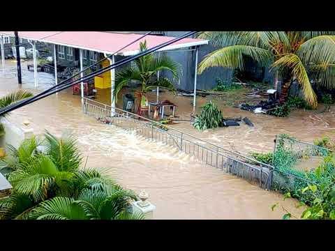 Flood in Amitie,Mauritius 21/04/18
