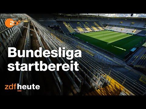 DFL Pressekonferenz zum Corona-Konzept der Bundesliga