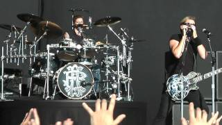 NICKELBACK - Something In Your Mouth -  Summer Sonic 2010 @ Osaka ニッケルバック [HD]