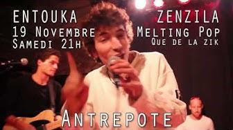ENTOUKA & ZEN ZILA le 19 novembre 2016 @ l'Antrepote (Alès)
