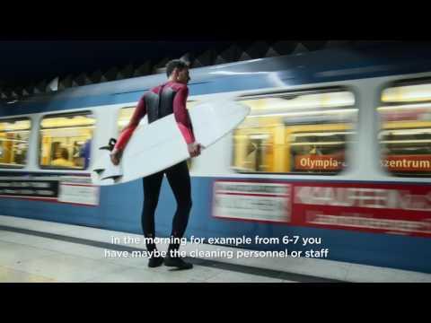 Nick Frank, the Munich U-Bahn and the PowerShot G7 X Mark II - Canon