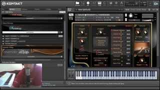 Galaxy II Steinway Piano - Przegląd programu oraz test (Kontakt5)