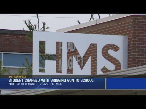Student Charged With Bringing Gun To Head Middle School