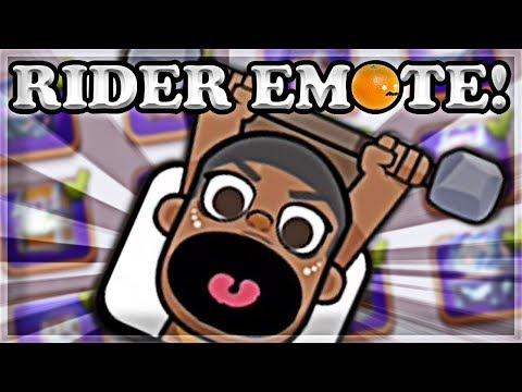 RIDER Emote! Holiday Tournament Tips & Tricks   Clash Royale 🍊