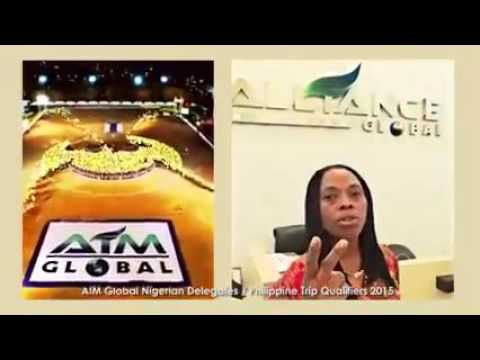 NIGERIAN PARTNERS OF AIM GLOBAL DELEGATES THE PHILIPPINES TRIP QUALIFIERS 2015