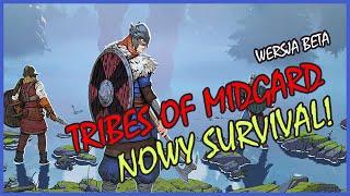 Zagrajmy w Tribes of Midgard BETA - SURVIVAL W ŚWIECIE WIKINGÓW! - GAMEPLAY PL