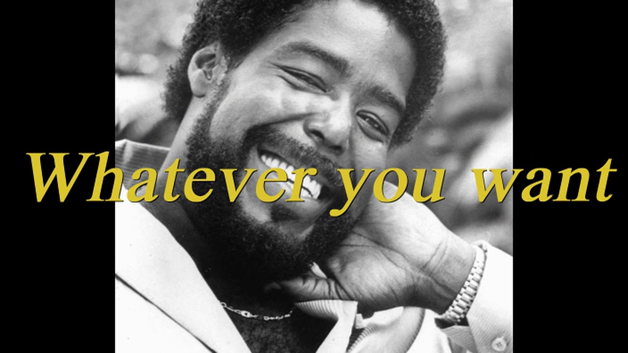 Songtext von Barry White - Never, Never Gonna Give You Up ...
