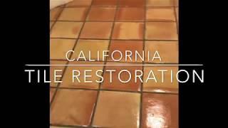 Glaze N' Seal Sealing and Stripping (FAIL) Fleur De Lis Saltillo Tile