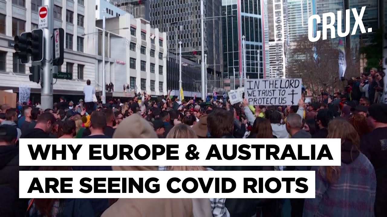 Download Violent Protests In France, Italy, Australia Against Covid Restrictions Despite Delta Variant Threat