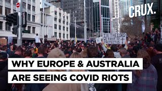 Violent Protests In France, Italy, Australia Against Covid Restrictions Despite Delta Variant Threat