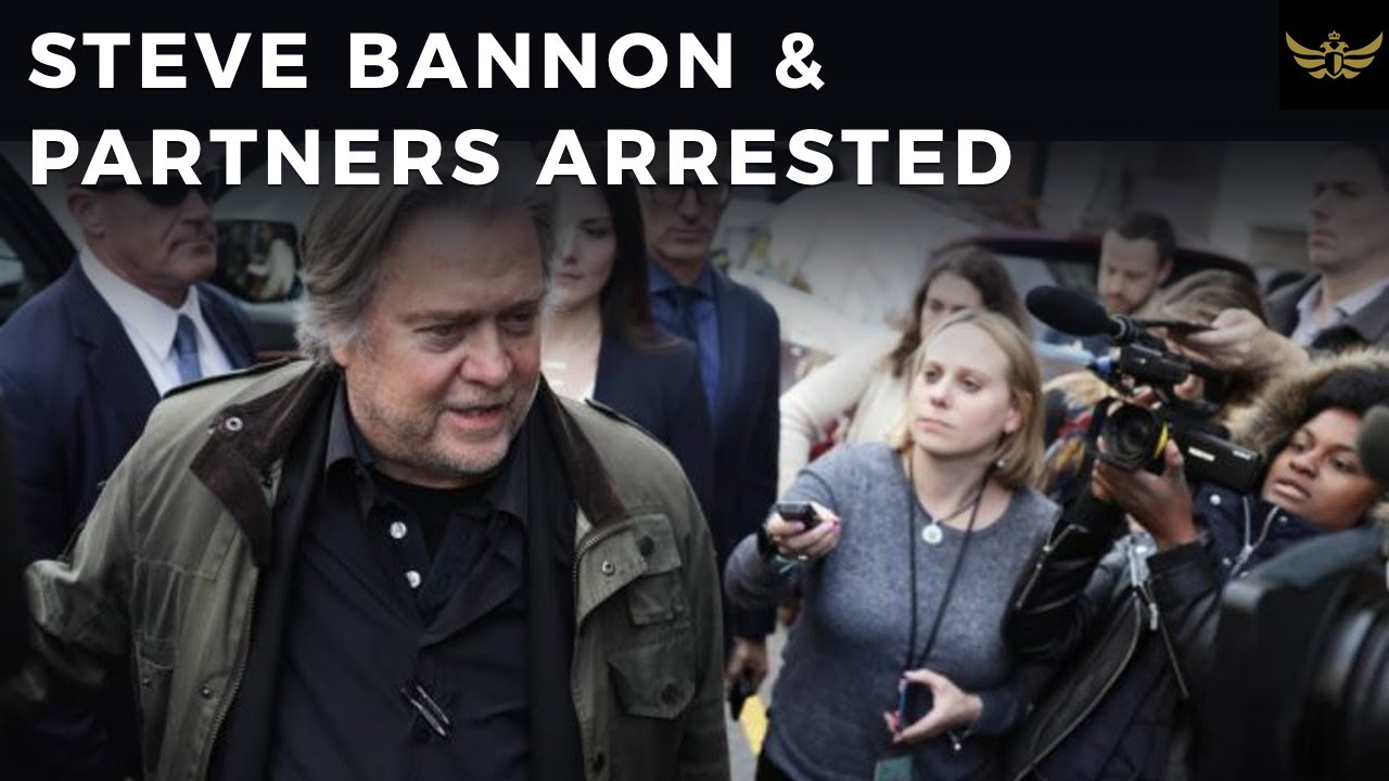 Steve Bannon & partners arrested for WE BUILD THE WALL charity
