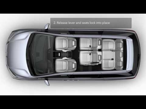 How to Use Magic Slide 2nd-row Seat™ \u2013 2018 Honda Odyssey - YouTube