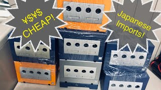 GameCube Japanese Imports - Cheap !