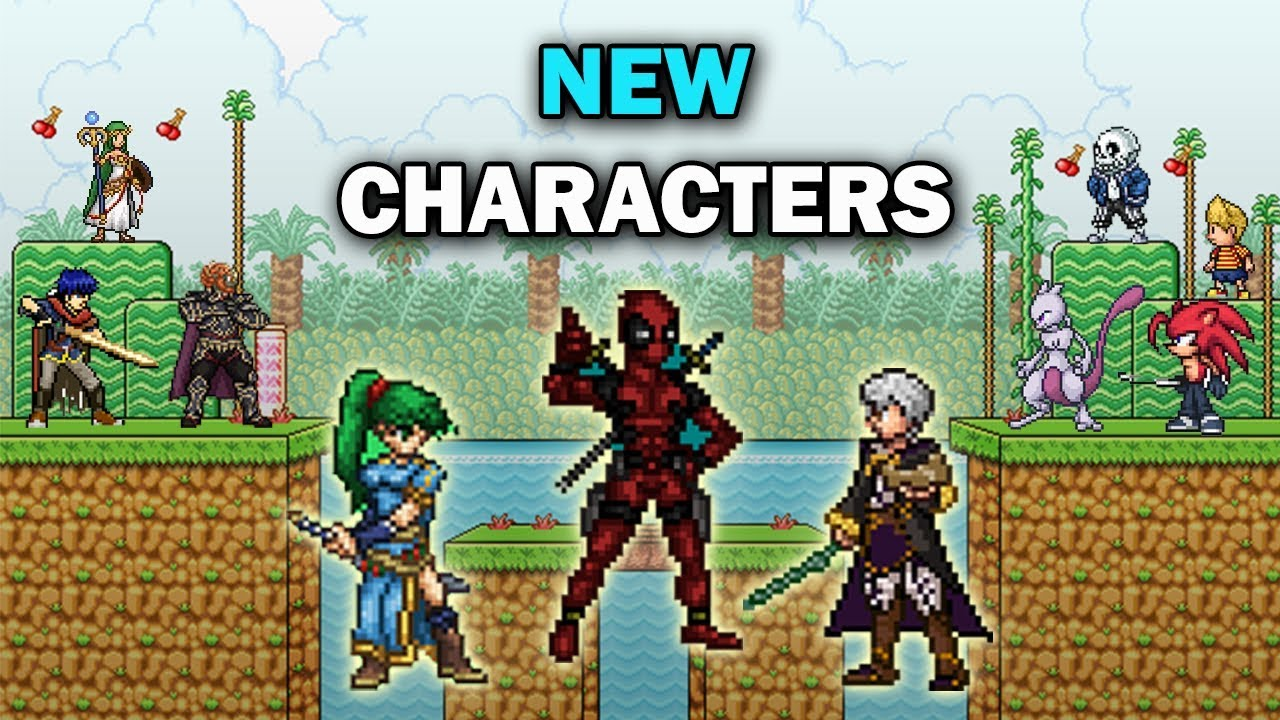 NEW Character Suggestions For Super Smash Flash 2 Roster