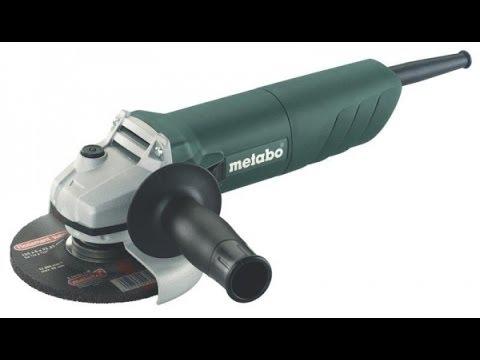 Обзор Metabo W 720 125