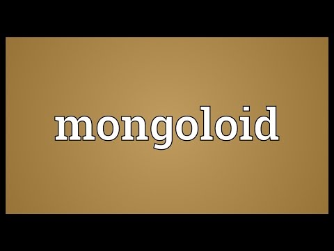 Mongoloid Meaning